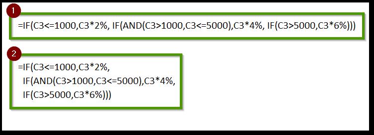 Breakdown lengthy formulas